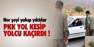 PKK#039;lıl, yar 70 yolcuyu rehin aldı.