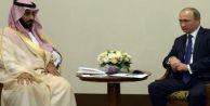 Putin, Suudi Arabistan Savunma Bakanı ile Suriye için buluştu