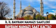 Ramazan Bayramı Namaz saati kaçta kılınacak?
