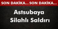 Şemdinli#039;de Astsubaya Silahlı Saldırı
