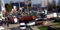 Seyrantepe'de Metro Raydan Çıktı: Yaralılar var