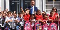 Silivri Belediyesi#039;nden çocuklara okul seti
