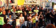 Silivri#039;de Çocuk İstismarı ve Kadına Şiddet Protestosu