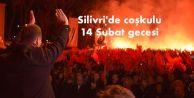 Silivri#039;de coşkulu 14 Şubat gecesi