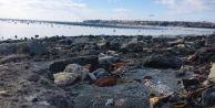 Silivri#039;de Deniz kıyıdan 25 Metre Geri Çekildi