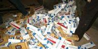 Silivri'de Kaçak Sigara Operasyonu