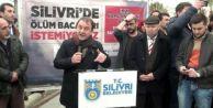 Silivri#039;de termik santrale karşı tepki