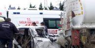 Silivri#039;de Trafik Kazası: 1 Ölü, 1 Yaralı