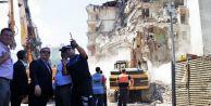 Silivri Gümüşoğlu Pasajı#039;nda yıkım başladı