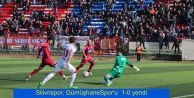 Silivrispor, GümüşhaneSpor#039;u  1-0 yendi