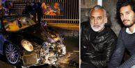 Sinan Çetin#039;in oğlu Rüzgar Çetin kaza yaptı: 1 polis şehit