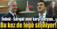 Şişli Belediyesi şimdi de logosunu siliyor!