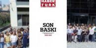 Son baskısını yaptı: Gazete Habertürk#039;ten okurlarına veda