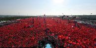Son dakika: Yenikapı#039;da tarihi görüntü... Erdoğan, Yıldırım, Kılıçdaroğlu, Bahçeli...