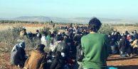 Suriye#039;deki siviller Türkiye sınırına kaçıyor