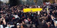Tahir Elçi#039;yi son yolcuğluğuna 50 bin kişi gözyaşlarıyla uğurladı