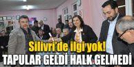 TAPULAR GELDİ HALK GELMEDİ!