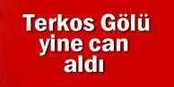 Terkos Gölü yine can aldı