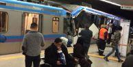 Tramvaylar Çarpıştı, 1 Kişi Yaralandı