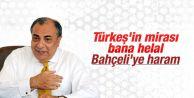 Tuğrul Türkeş#039;ten mirasyedi tepkisi