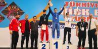 Türkiye Açık Kick Boks Turnuvası Şampiyonu Büyükçekmeceden çıktı!