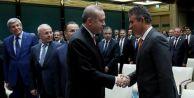 Türkiye Barolar Birliği Başkanı Metin Feyzioğlu, Cumhurbaşkanlığı Sarayı#039;nda