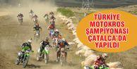 TÜRKİYE MOTOKROS ŞAMPİYONASI ÇATALCA'DA YAPILDI