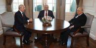 Üç liderden ortak açıklama: Teröre karşı mücadelemiz sürecek
