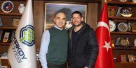 Ümit Davala Başkan Kerimoğlu#039;nu ziyaret etti
