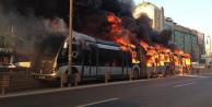 Yanan Metrobüsün Faturası Ağır Oldu