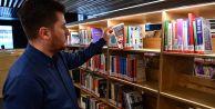 Yaşar Kemal Kütüphanesi#039;nde aracısız kitap ödünç alma devri