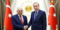 Yeni Meclis Başkanı Binali Yıldırım#039;a sürpriz tören!