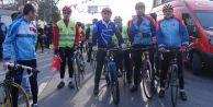 Yüzlerce bisikletli Çanakkale ruhuyla 330 kilometre pedal çevirecek
