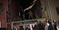 Yüzlerce kişi HDP il binasına saldırdı!