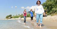 Ambarlı sahiline plaj