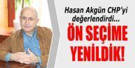 Hasan Akgün: Ön seçime yenildik