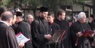 Silivri'de ortodokslar ayin yaptı