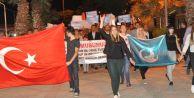 Ülkücüler Doğu Türkistan için sokaklarda