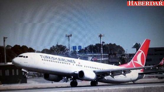 THY'nin Diyarbakır Uçağına Asılsız Bomba İhbarı