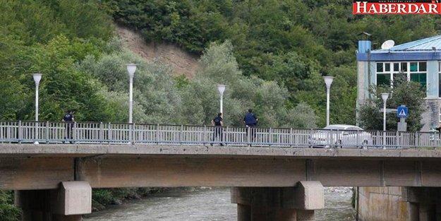 Trabzon'da teröristle çatışma çıktı...