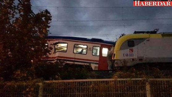 Trenler çarpıştı; Seferler durdu