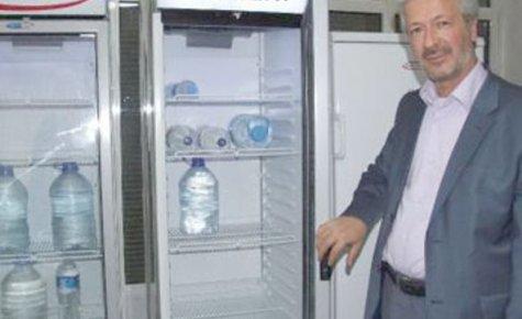 Türk mucitten güneş enerjili buzdolabı
