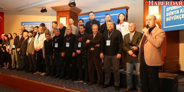 Türk spor tarihine damga vuran isimler onurlandırıldı