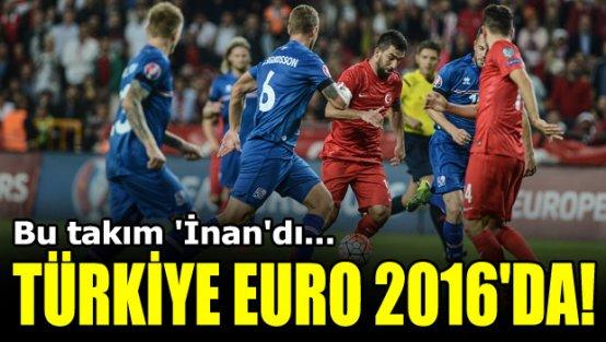 EURO 2016'ya direk gidiyoruz... Türkiye 1-0 İzlanda