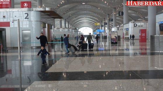 Türkiye'de ilk! İstanbul Havalimanı'nda 'akıllı teknoloji' farkı...