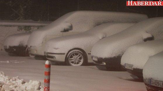Türkiye'nin bir çok kentine yılın ilk karı yağdı
