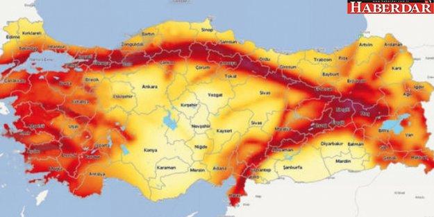 Türkiye'nin Deprem Haritası Güncellendi: 46 İlde Risk Azalırken, 6 İlde Yükseldi