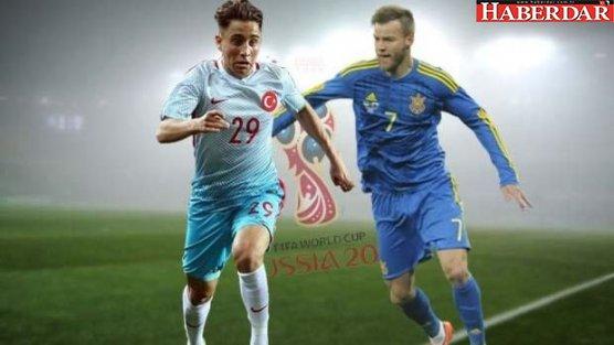 Türkiye-Ukrayna maçı saat kaçta hangi kanalda?