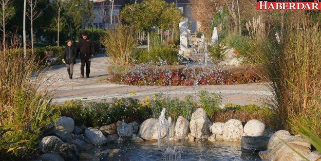 Türkiye'nin en özel parkı kış mevsiminin de gözdesi