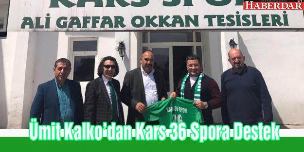 Ümit Kalko'dan Kars36 Spor'a Destek
